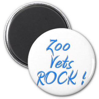 Zoo Vets Rock ! Refrigerator Magnets