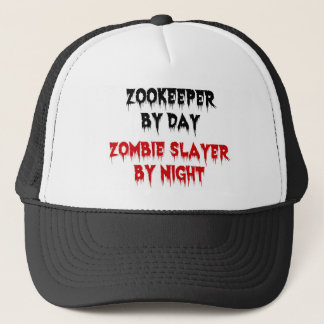Zookeeper by Day Zombie Slayer by Night Trucker Hat