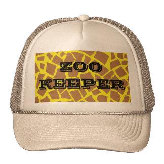 Zookeeper Cap