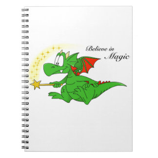 Zookie the Dragon 'Believe in Magic' Notebook