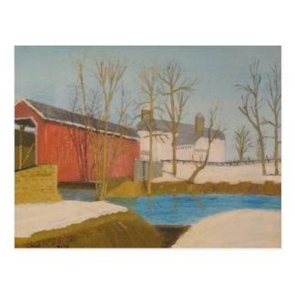 Zook's Mill Bridge - Lancaster Postcard