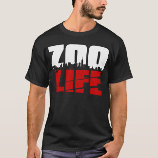 ZooLife CityScape Red T-Shirt