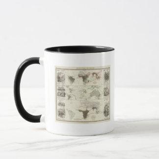 Zoological geography mug