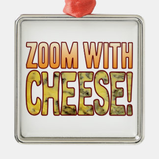 Zoom Blue Cheese Christmas Ornament