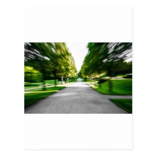 Zoom burst! postcard