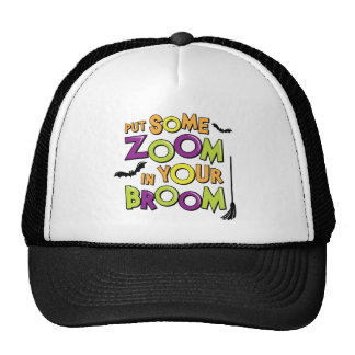 Zoom in Your Broom Mesh Hats