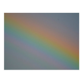 Zoomed In Rainbow Postcard