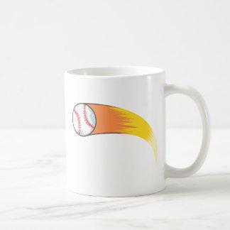 Zooming Baseball Mug