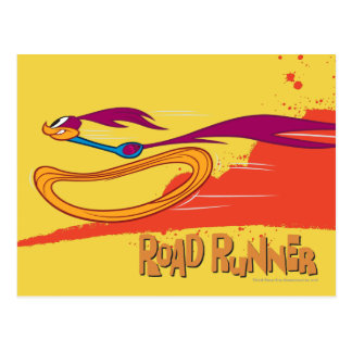 Zooming Roadrunner Postcard