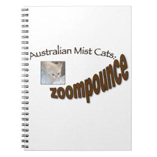 zoompounce kitten note books