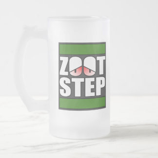 Zootstep zooted Funny DUBSTEP Frosted Beer Mug