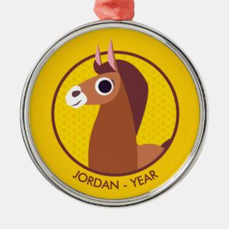 Zora the Horse Christmas Ornament