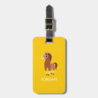 Zora the Horse Luggage Tag