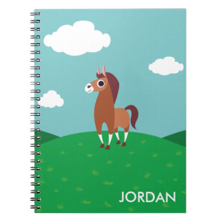 Zora the Horse Notebook