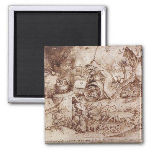 Zorn (Anger) by Pieter Bruegel the Elder Magnet