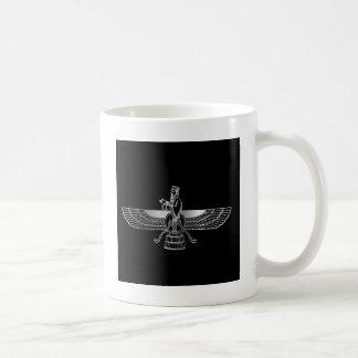 Zoroastrianism Faravahar Basic White Mug