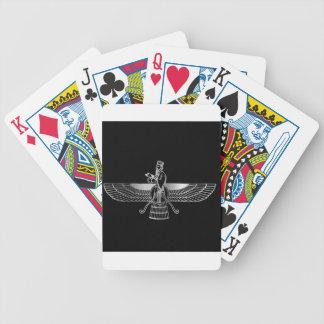 Zoroastrianism Faravahar Bicycle Poker Cards