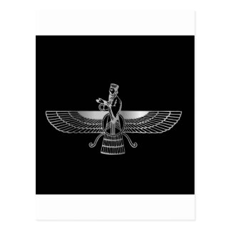 Zoroastrianism Faravahar Postcard