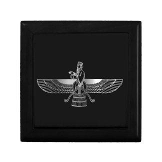 Zoroastrianism Faravahar Small Square Gift Box