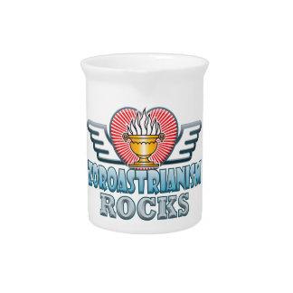Zoroastrianism Rocks Pitcher