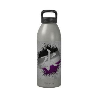Zoroastrianism's Faravaharv Asexual Reusable Water Bottles