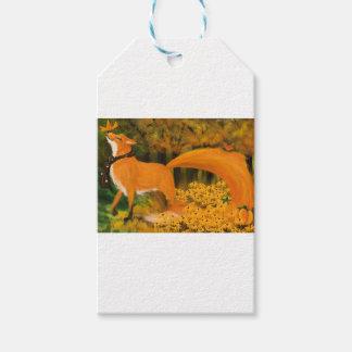 Zorrito of Autumn Gift Tags