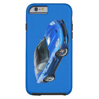 ZR1 Supersonic Blue Corvette iPhone 6 case Tough iPhone 6 Case