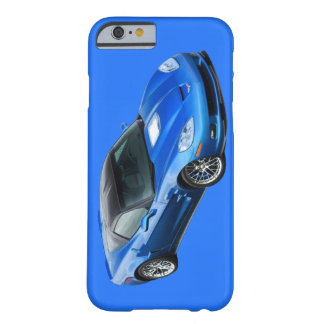 ZR1 Supersonic Blue Corvette iPhone 6 case