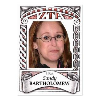 ZTA ATC - Trading Card Business Card Templates