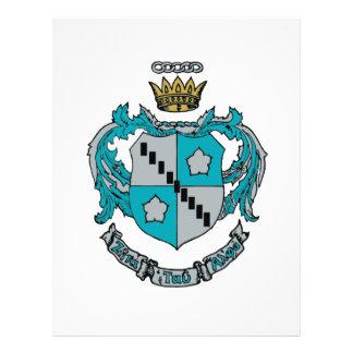 ZTA Crest Color 21.5 Cm X 28 Cm Flyer