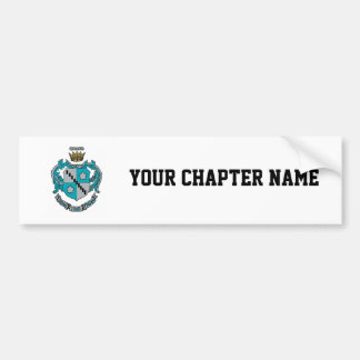 ZTA Crest Color Bumper Sticker