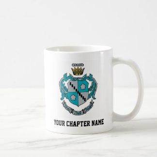 ZTA Crest Color Coffee Mug