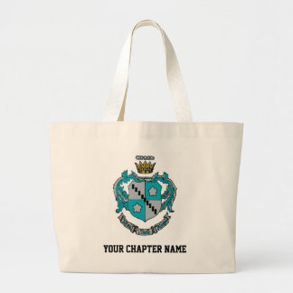 ZTA Crest Color Large Tote Bag