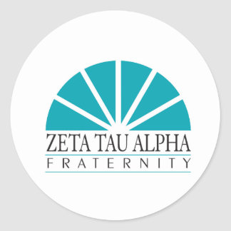 ZTA Logo Classic Round Sticker