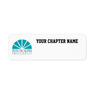 ZTA Logo Return Address Label