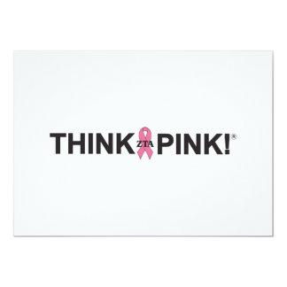 ZTA Think Pink! Card