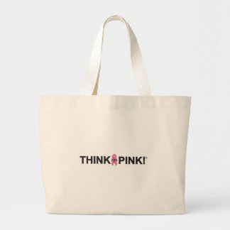 ZTA Think Pink! Large Tote Bag