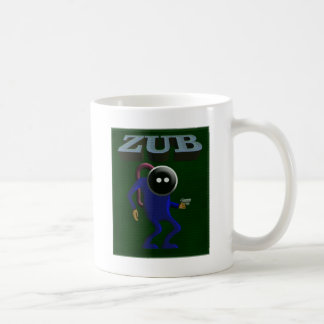 Zub Retro Gaming Basic White Mug