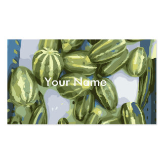 Zucchini and Winter Squash Harvest Pack Of Standard Business Cards