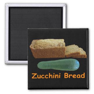 Zucchini Bread Refrigerator Magnets