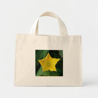 Zucchini Star Flower Mini Tote Bag