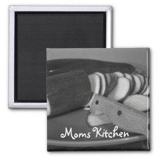 zuchinn Moms Kitchen Magnet