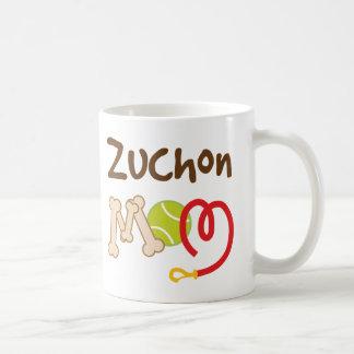Zuchon Dog Breed Mom Gift Basic White Mug