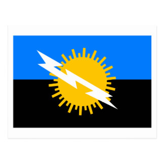 Zulia Flag Postcard