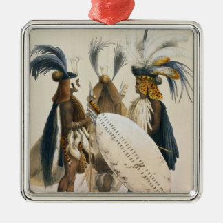 Zulu Soldiers of King Panda's Army, plate 20 from Christmas Ornament