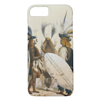 Zulu Soldiers of King Panda's Army, plate 20 from iPhone 8/7 Case