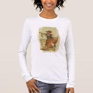 Zulu warrior, Utimuni, nephew of Chaka the late Zu Long Sleeve T-Shirt