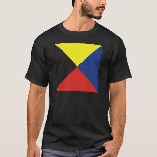 Zulu (Z) Signal Flag T-Shirt