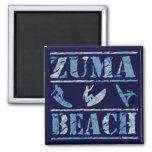 Zuma Beach Refrigerator Magnet