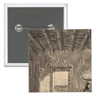Zuni room 15 cm square badge